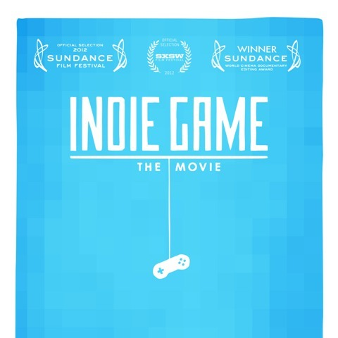 So this lovely film, Indie Game: The Movie came out today. I am currently downloading my copy of it. I've been anticipating it for a year or so and I'm really excited to finally see it (: It follows some indie game developers through the process of making their games, and if the trailers and the Sundance award is any indication, it's very well done. I feel like I should play a little of Braid and Super Meat Boy first before I watch it though, especially since they have been chilling on my Steam for quite some time now. I'll probably watch it tomorrow and post my thoughts about it then…