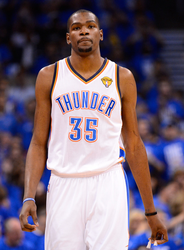 NBA: THE FINALS GAME 1  Miami Heat 94 thunder 105 FINAL  PTS: Durant 36 REB: Collison 10 AST: Westbrook 11 STL: Sefolosha 2 BLK: 3 tied at 1  pinterest.com/mysterkeepinit  keepinitrealsports.wordpress.com  Mobile- m.keepinitrealsports.com