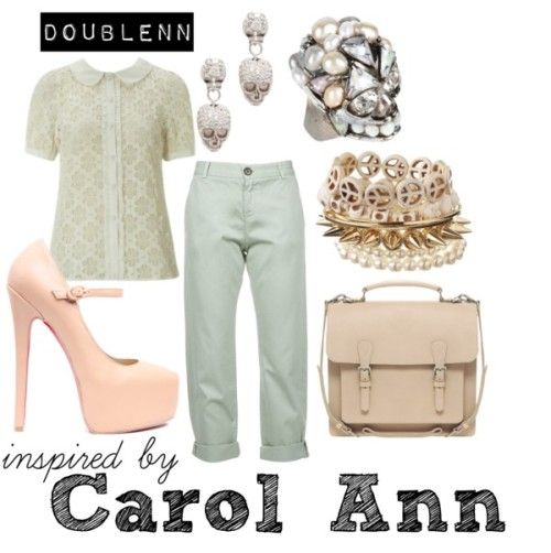 Carol Ann by doublenn featuring beige shoes