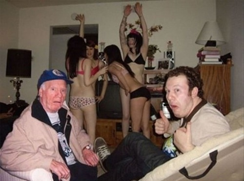 How To Give Grandpa A Heart Attack Follow us for daily lulz! We follow back!