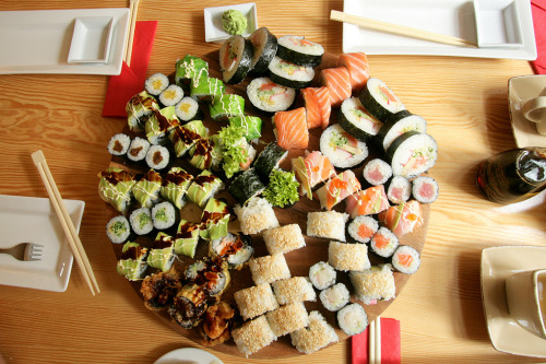 Best sushi in town II. (by Kristof Borkowski)