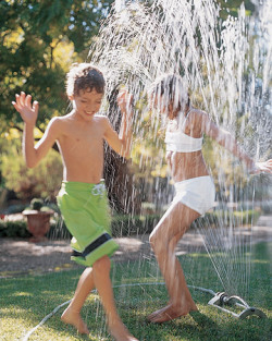 How to Throw a Sprinkler Party via Martha Stewart