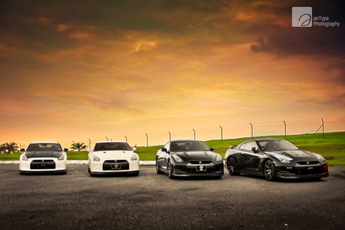 GT-R Quartet. by anType