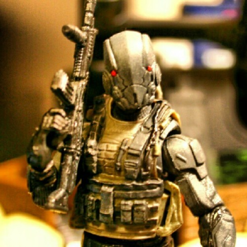 #custom #gijoe #trooper #yojoe #actionfigure #acba #toyphotography #cobra  (Taken with Instagram)