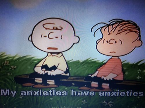 Charlie Brown, Woody Allen and I would all get along.