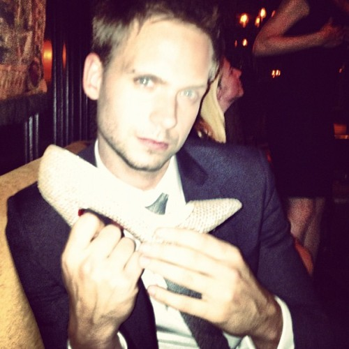meghanmarkle: @halfadams prince charming? #suits