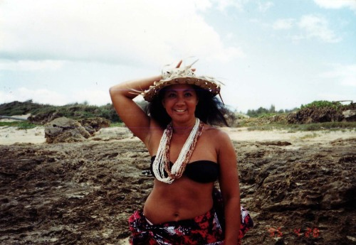 my favorite photo of my mom, back in hawaii… 1990's