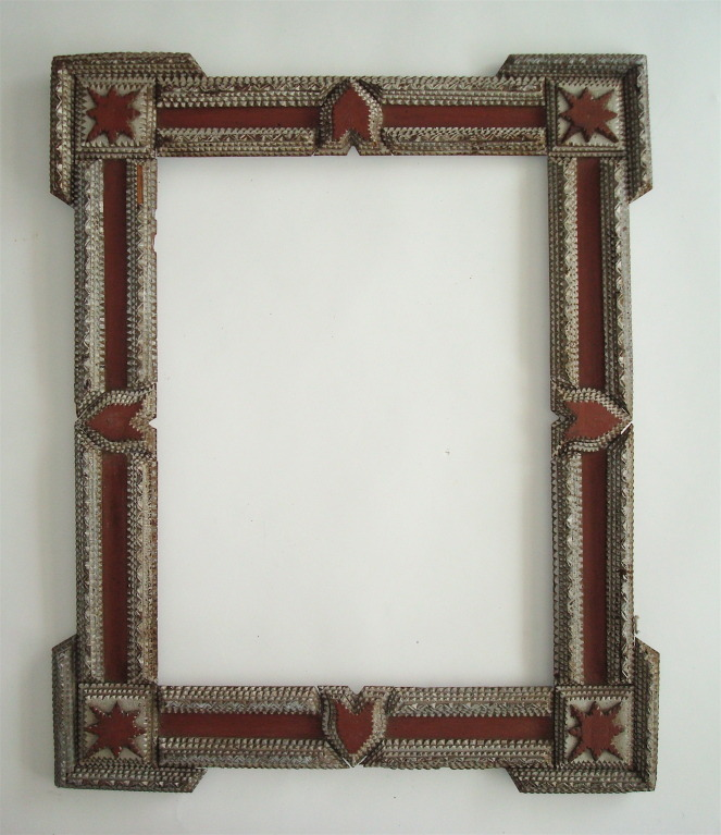 American Folk/Tramp Art Frame USA Early 20th century