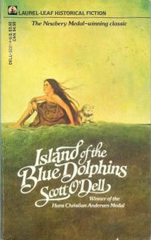 IMPORTANT POST: Island of the Blue Dolphins is available on the Kindle. Here is a post from 2007 telling you why this is great and vital information!  I mean, it just. breaks. your. heart. It really does. Best book of the fourth grade, for sure. Even better than The Witch of Blackbird Pond. There, I said it.