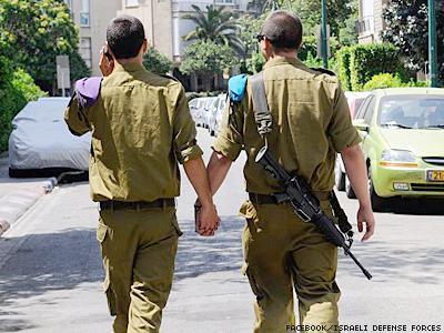 armedforces dontask donttell gay gay military gaymilitary israeli soldiers gaypride pride