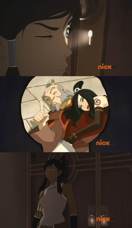 "matsurihakari:  june-the-bounty-hunter:  bennanners:  What Korra actually saw in Hiroshi Sato's office.  ((XDDD)) June furious ""Where did you get this?"" pulls her whip out ""Tell me now.""  PFFFTTT  I sense a new meme in the making."