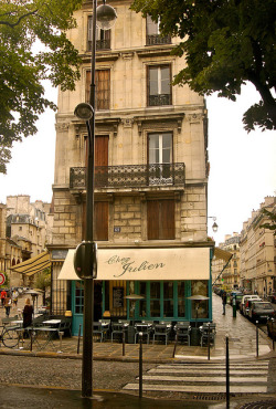 | ♕ |  Chez Julien - Brasserie in Paris  | by © Everita | via ysvoice