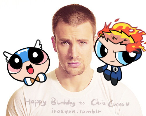 irosyan:  Happy 31st Birthday ,Chris Evans☆