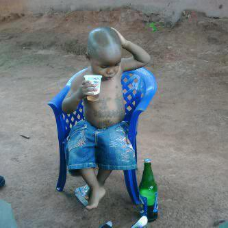 lil homie just chillin lol… check the tats wtf