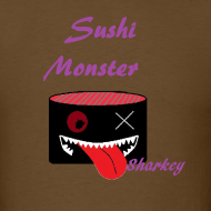 Sushi Monster Tshirts now Available on in our Shop on spreadshirts  http://sushimonster.spreadshirt.com/  http://sushimonster.spreadshirt.com/sushi-monsters-women-A10146513