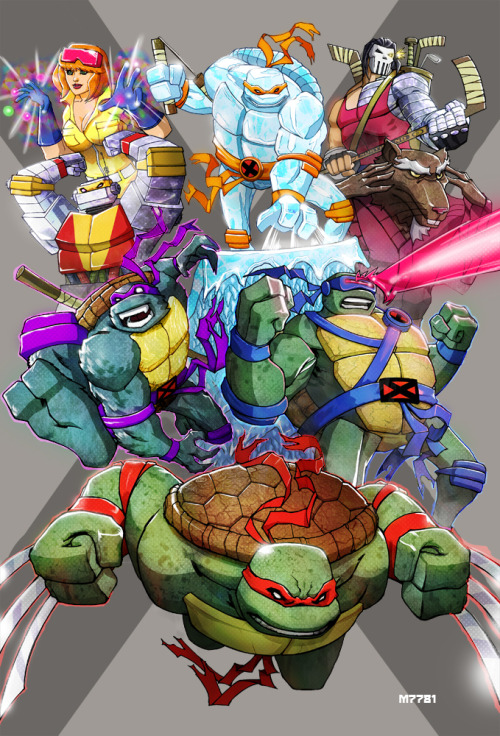 herochan:  X-Men/TMNT Created and submitted by Marco D'Alfonso deviantART || Website