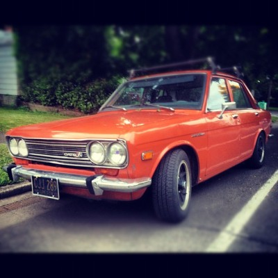 #oregon #eugene #datsun #datsun510 #510 #classic (Taken with Instagram)