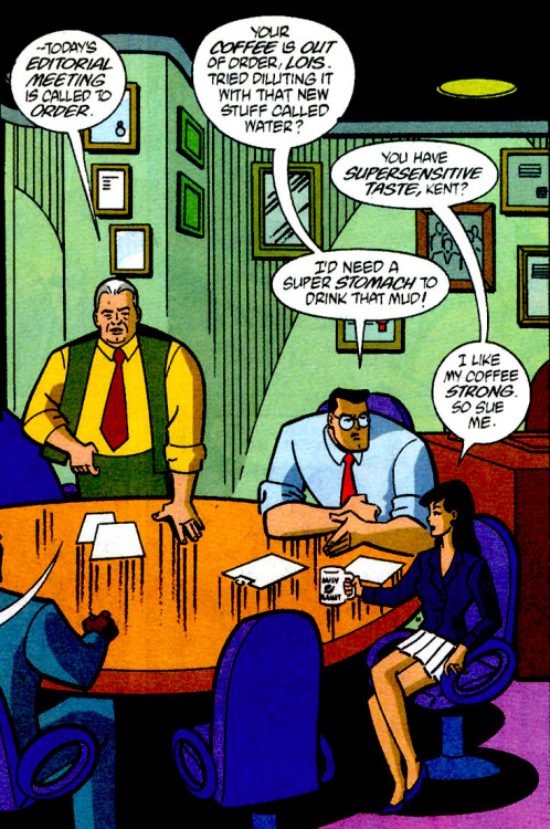 Lois Lane Panel of the Day: ~Superman Adventures #43