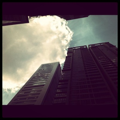 Clouds.. #clouds #kl #photography #iphoneography #experimental  (Taken with Instagram)