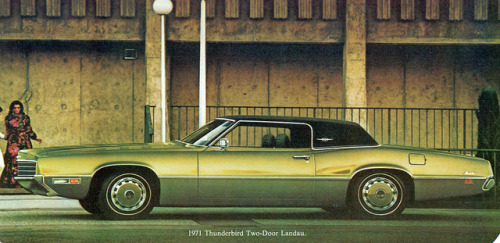 1971 Ford Thunderbird Landau 2 Door Hardtop  by coconv on Flickr.1971 Ford Thunderbird Landau 2 Door Hardtop