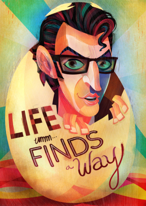 driveintheaterofthemind:  Life Finds A Way by lerms