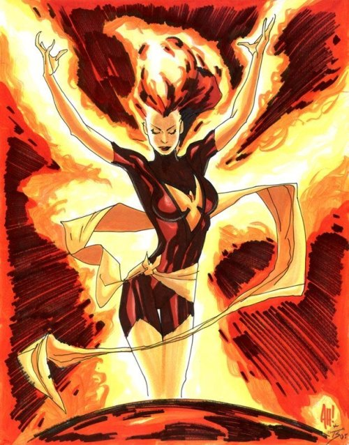 kool2skool:  phoenix by adam hughes