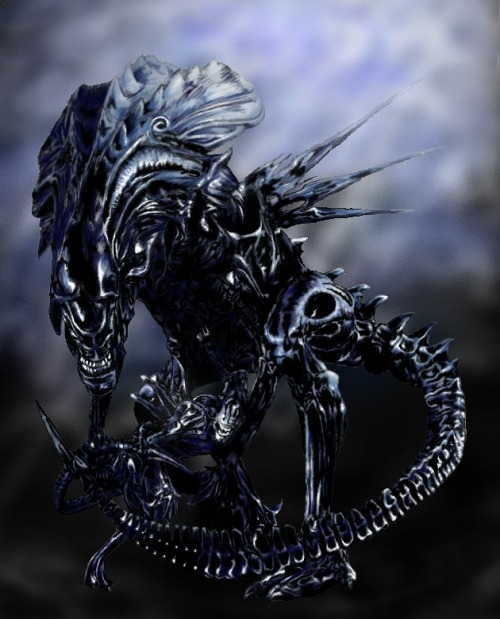 Alien Queen by Crophecy