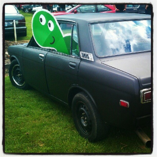 hammocksloth:  #turtle #510 #datsun #oldschool #datsunlove (Taken with Instagram)