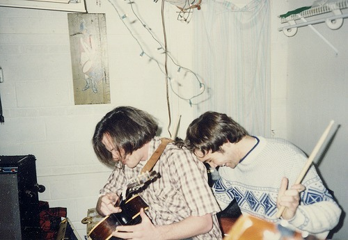 Jeff Mangum and Jeremy Barnes - 1997, Athens GA