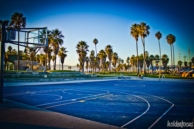 venice beach courts on Flickr.
