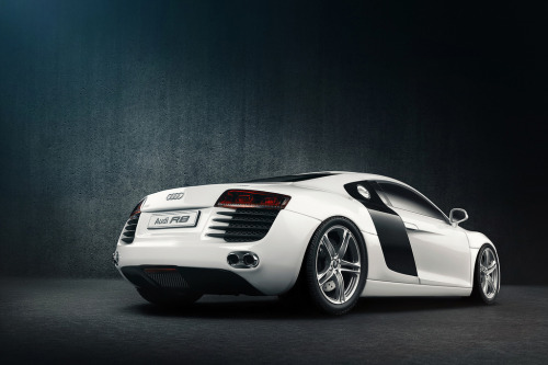 automotivated:  Audi R8 (by illektronik)  In white :)