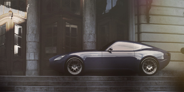 visualcasualty:  Great Jaguar E-Type Concept by Laszlo Varga, a Industrial Design Student from Hungary.Not Bad! Although it looks like a bit Maserati-ish..like…