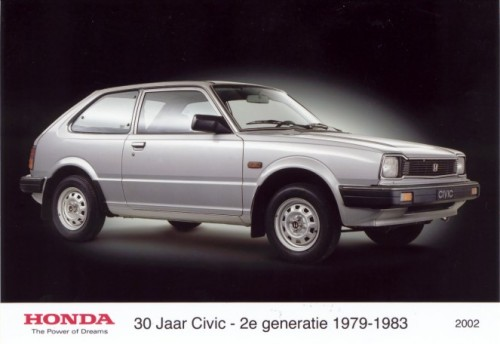 2nd Generation of Honda Civic