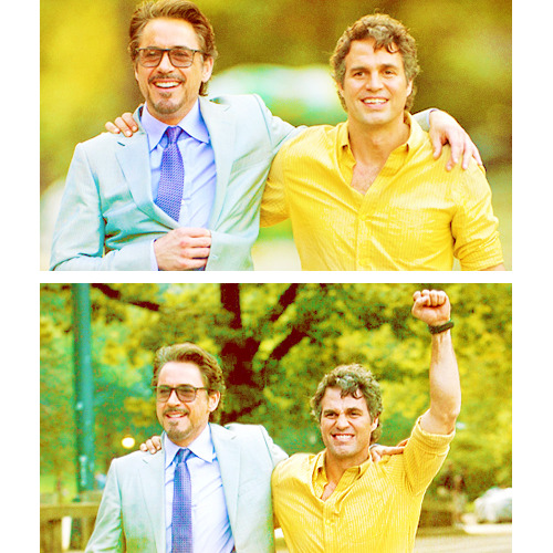 Mark Ruffalo (1/100): Science Bros