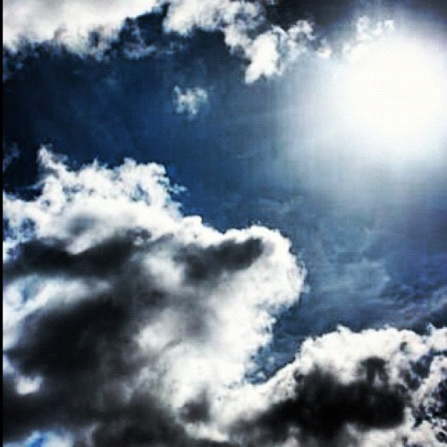 I have a thing for clouds in the sky 😁 (Taken with Instagram)