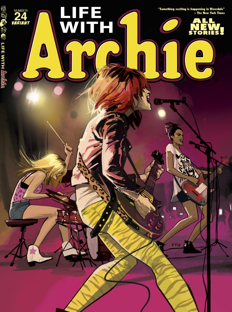 comicbooks:  Life With Archie #24 cover art by Fiona Staples