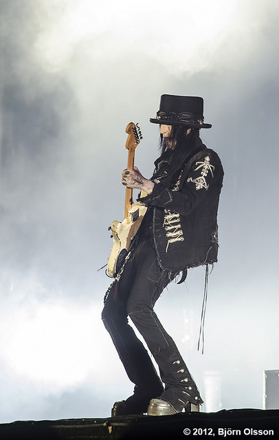 Mick Mars on Flickr.Sweden Rock 2012