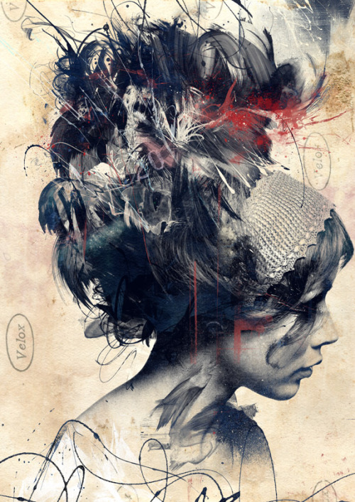 artchipel:  Russ Mills | byroglyphics on Tumblr - Flat Earth print available >