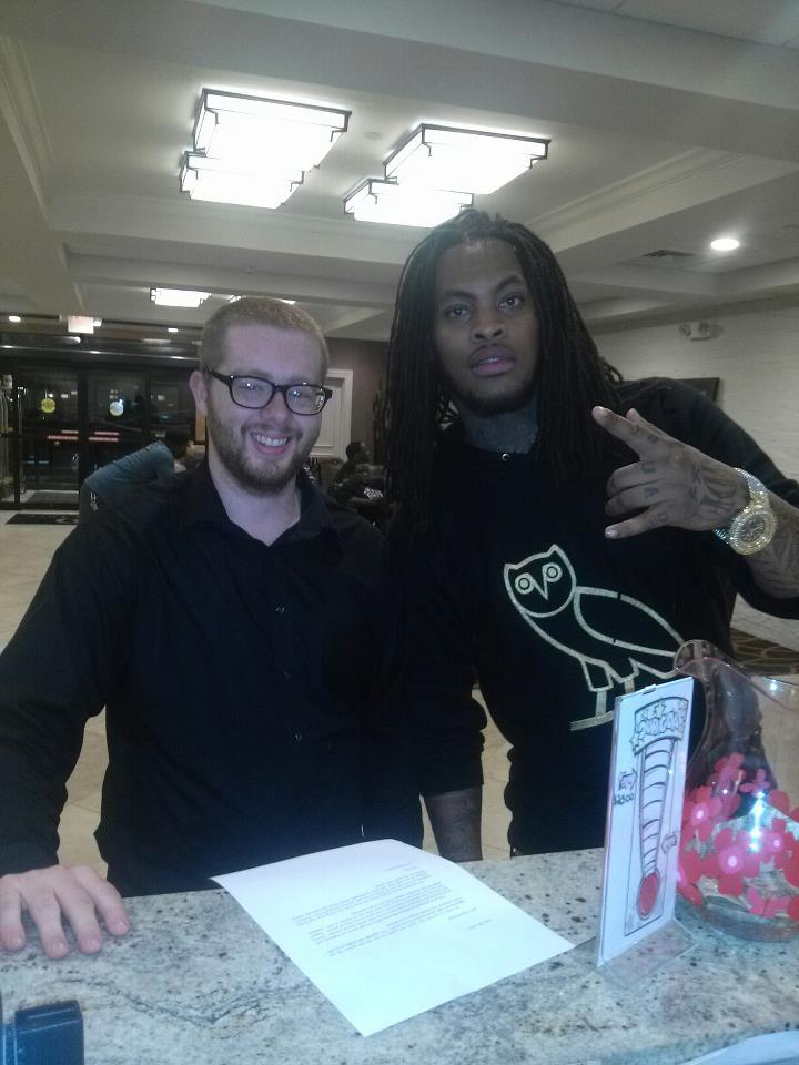 My Brother & Me Met Waka Last Night … Lmfao