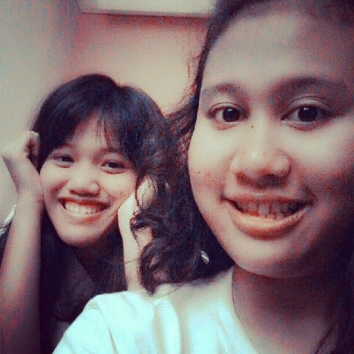 #me #with #Mybestfriend #love #ya #instagood #indonesia  (Taken with Instagram)