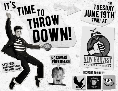 June Throwdown! Making our return to the New Harvest Training Lab! Be There!