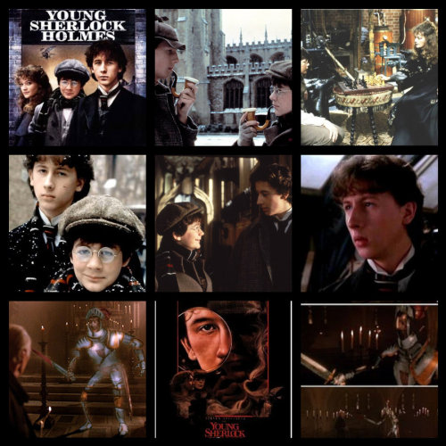 UK: Young Sherlock Holmes on Film4 tonight 18.50BST.Nice little article from Radio Times about the movie and comparision to Benedict Cumberbatch.Image credit: HalloweenMAGE
