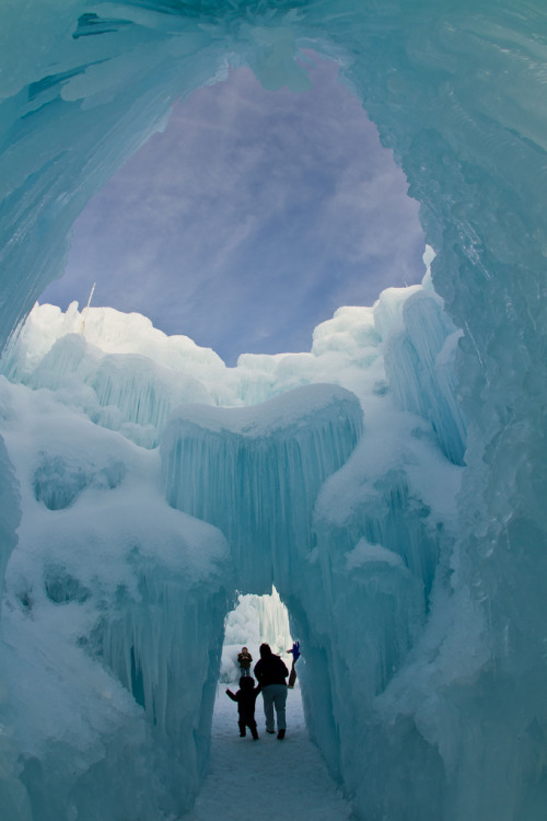 fornicating:  Ice Castle by Bill Church