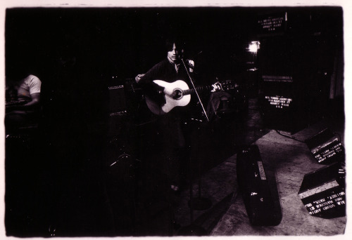 """Jackson Browne, sound check. Boston 1974"""