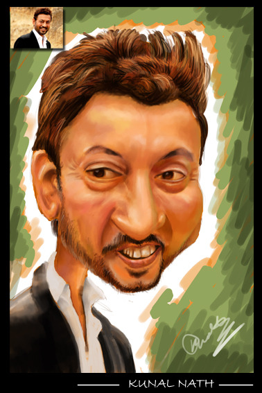 Caricature Software used: Adobe Photoshop Created by: Kunal Nath