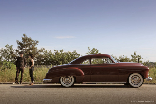 You've come a long way stranger Starring: '49 Chevrolet Coupe (by LOWTECH garage photography)