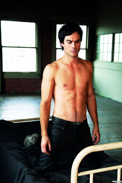 I'm sorry.. Who thinks Ian Somerhalder shouldn't play Christian?