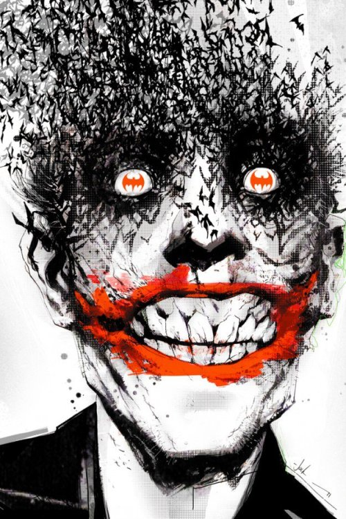 nonsensemisa:  Joker by Jock