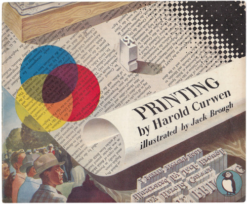 depressionpress:  Printing by Harold Curwen via maraid