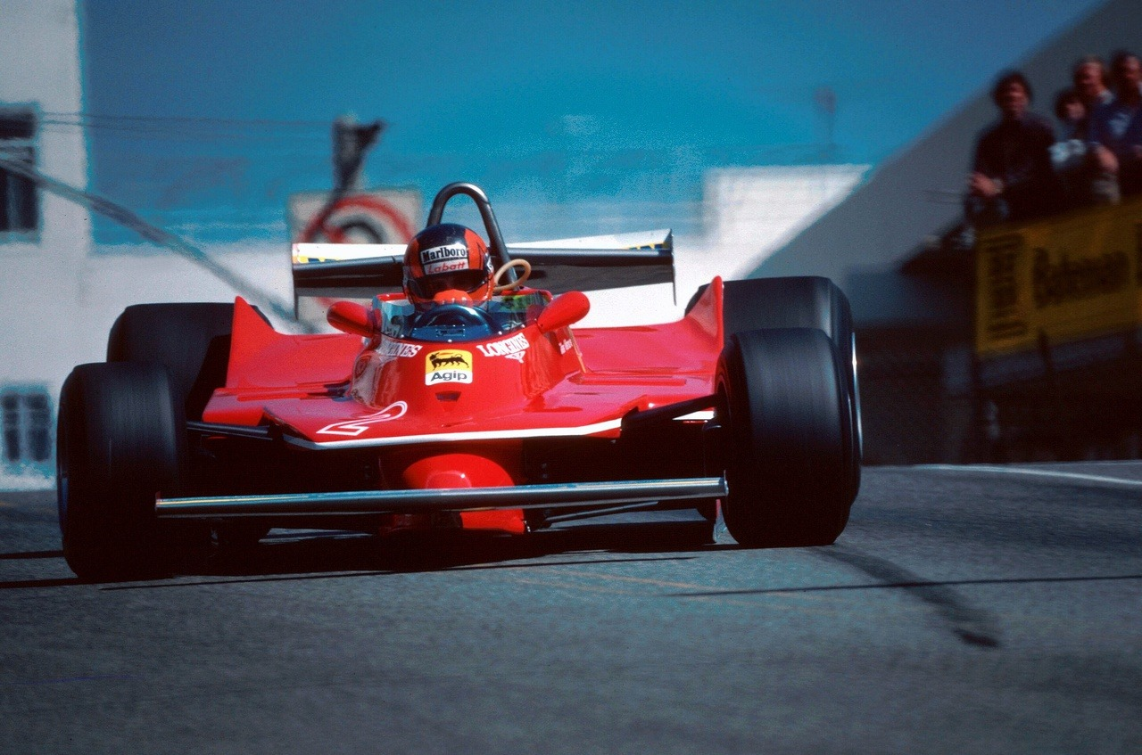 ethangilles:  Axis of Oversteer: Canadian Style Starring Gilles Villeneuve and the Ferrari 312T5